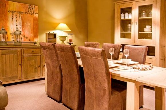 Grote en uitschuifbare eettafels voor 8 personen en meer!  Meubelen ...