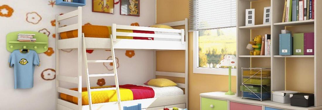Kinderkamer voor twee - Kamer voor een kind ...