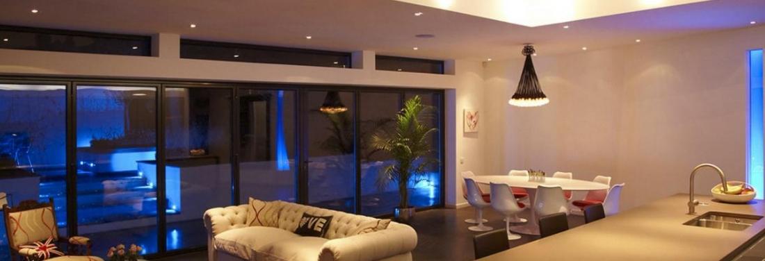 Meer sfeer minder verbruik dankzij ledverlichting in je for Led verlichting interieur