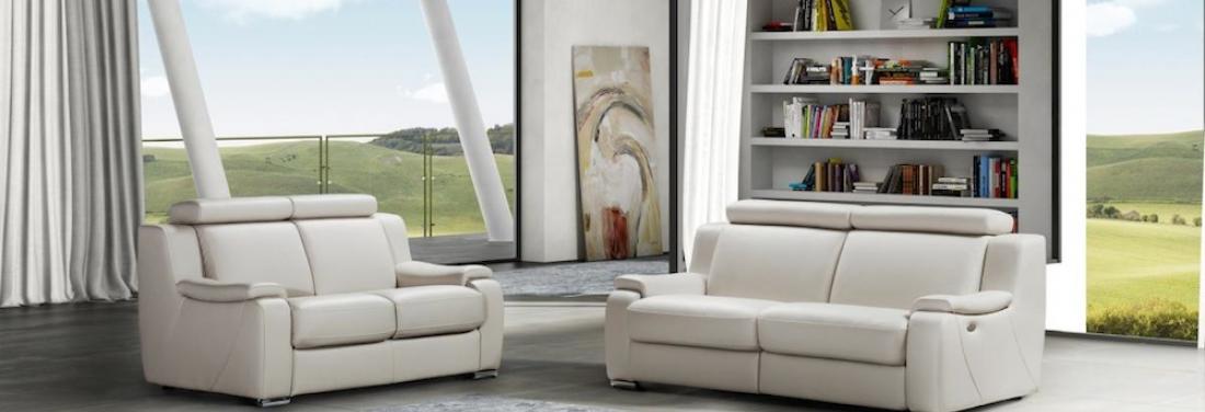 Lederen bankstellen voor een strak interieur meubelen for Lederen interieur