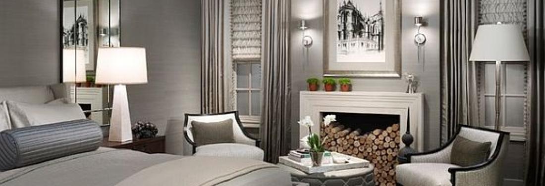 Een monochroom interieur n kleur in je huis meubelen heylen - Decoratie kamer slapen schilderij ...