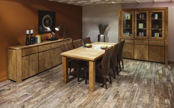 Salle manger carmelio meubelen heylen for Interieur plus peer