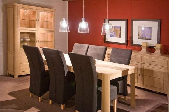 Salle manger rondo meubelen heylen for Interieur plus peer