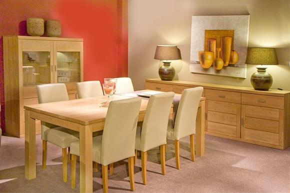 Salle manger sandra meubelen heylen for Interieur plus peer
