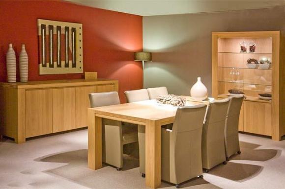 Eetkamer wibo meubelen heylen - Eetkamer decoratie ...