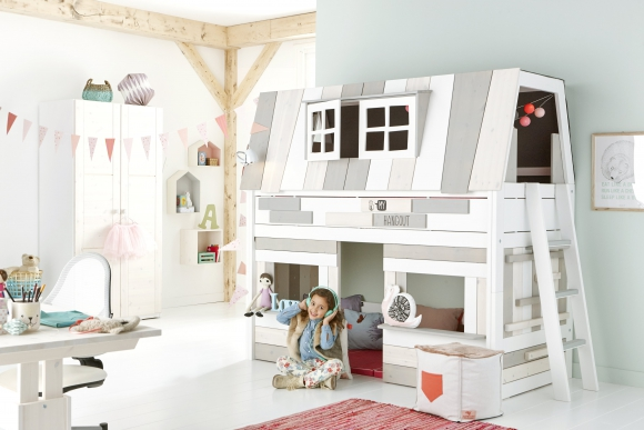 Lifetime kinderkamer Semihigh