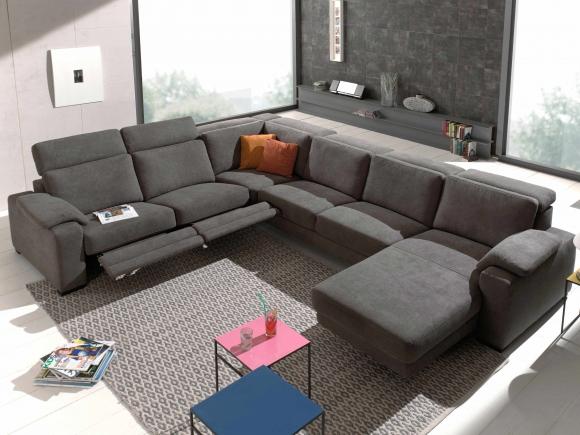 Salon Murlo, moderne salon met relaxfunctie