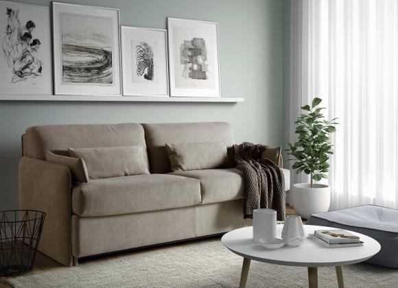 Slaapbank, sofabed Narrow