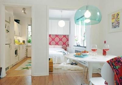 inrichten kleine studio of appartement