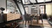 Eetkamer Nieuwpoort, modern, landelijk, eetkamer